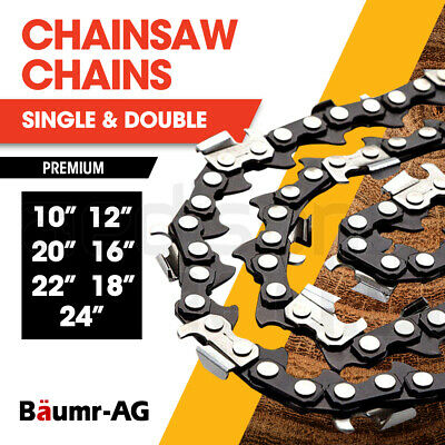 AU37 • Buy BAUMR-AG Chainsaw Chain Chains Replacement 10  12  16  18  20  22  24  Spare