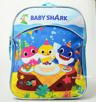 $14.99 • Buy Baby Shark Gift Small Backpack Mini Bag Boy Girl School Travel Mochila Pinkfong