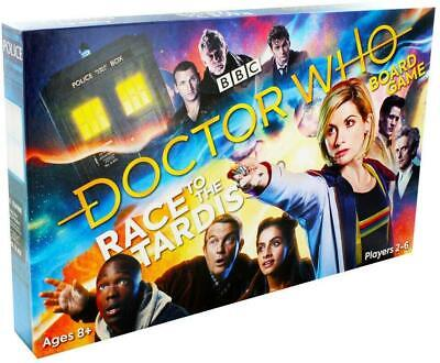 BBC Doctor Dr Who Childrens Kids Family Board Game - Race To The TARDIS  • 7.99£
