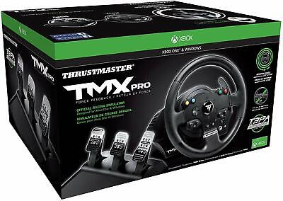 $411.50 • Buy Xbox One Steering Wheel And Pedals Gaming Racing Thrustmaster TMX Controller Set