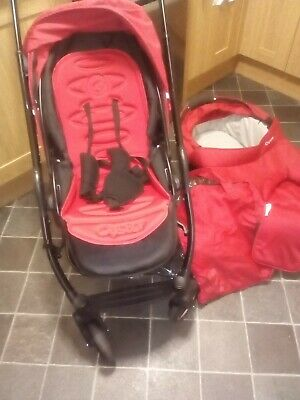 £60 • Buy Oyster Red Pushchair And Pram