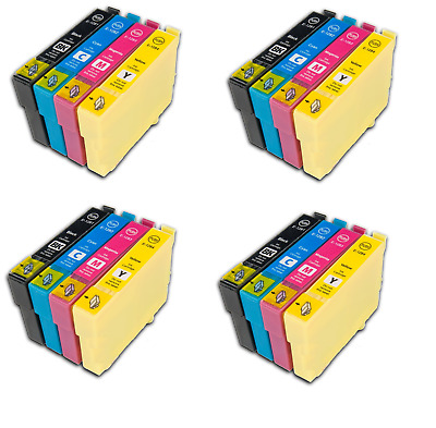 16 Ink Cartridge For Use In Epson Stylus Printers T1281 T1282 T1283 T1284 T1285 • 23.99£