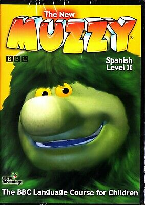 £12.99 • Buy The New Muzzy Bbc- Kids Language Course Level Ii 2 Learn To Speak Spanish 3-dvd