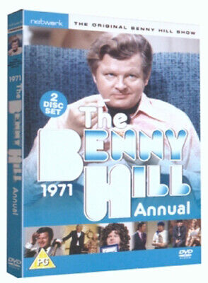 Benny Hill: The Benny Hill Annual 1971 DVD (2005) Benny Hill Cert PG 2 Discs • 4.38£
