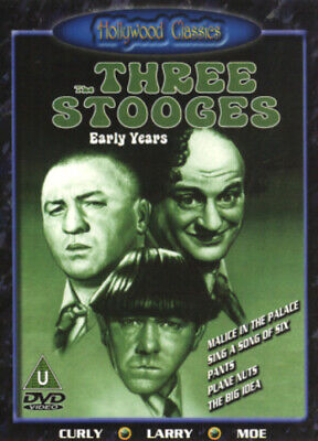 The Three Stooges: The Early Years - Part 3 DVD (2002) The Three Stooges Cert U • 2.38£