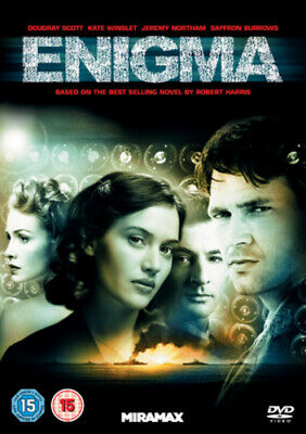 Enigma DVD (2011) Dougray Scott, Apted (DIR) Cert 15 FREE Shipping, Save £s • 2.18£