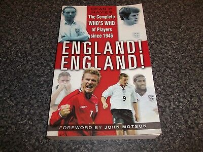 Book. Football. The Complete Who's Who Of Players Since 1946. England! England! • 12£