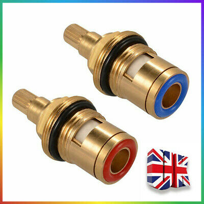 2pcs Replacement Tap Disc Cartridges Valve Quarter Turn Kitchen Bathroom 1/2  • 6.38£