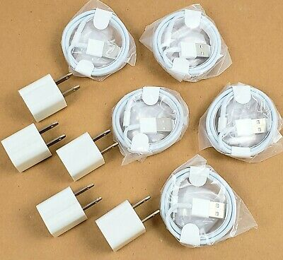 AU24.05 • Buy IPhone Charger 3ft Lightning USB Cable Wall Plug Adapter White 5/6/7/8/X/S Plus