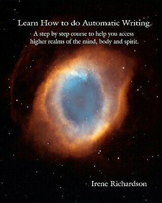 LEARN HT DO AUTOMATIC WRITING, Brand New, Free P&P In The UK • 13.59£