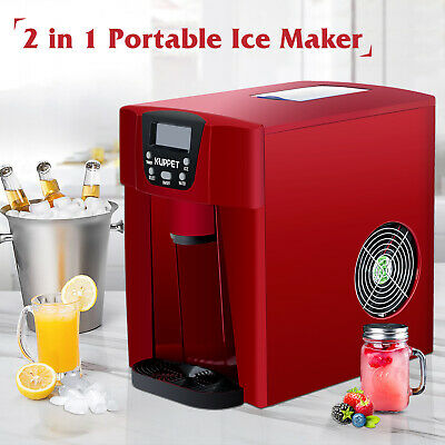 $118.90 • Buy Electric Cool Water Dispenser With Built-In Ice Maker Machine Counter Top