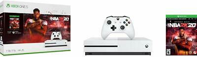 $219.99 • Buy Microsoft Xbox One S Bundle: 1 TB Console With NBA 2K20 And Wireless Controller