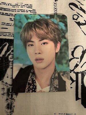 BTS JIN (7/8) 5th Muster Photocard Official. • 10$