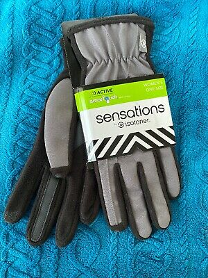$12.99 • Buy ISOTONER Computer Compatible Winter Womens Gloves SmarTouch Technology NEW!