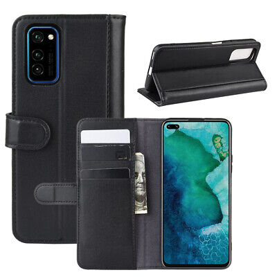 AU10.76 • Buy Case For Honor V30 Genuine Real Leather Stand Flip Magnetic Wallet Slim Cover