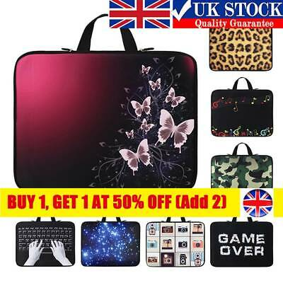 Laptop Bag Notebook Sleeve Case Cover 13 14 15 17  For HP Lenovo Acer Dell New  • 9.42£