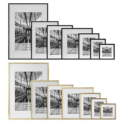 AU34.95 • Buy Cooper & Co Premium Metallicus Metal Photo Picture Frames Multi Size And Pack