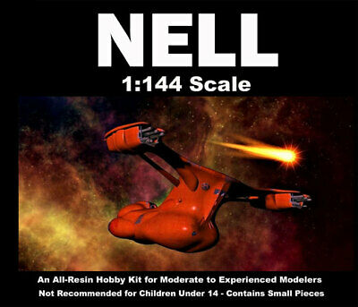 Battle Beyond The Stars Nell Spaceship 1/144 Scale Model Kit 18SFP25 • 91.64£