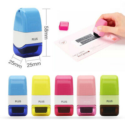 ID Theft Protection Stamp Roller Guard Your Data Identity Security Privacy DIY • 9.99£