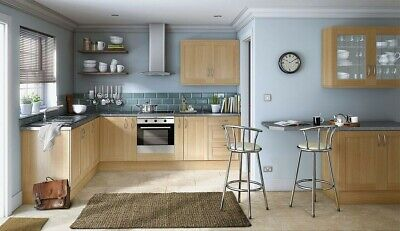 £15 • Buy New Hygena Amersham Oak Kitchen - Flat Pack - Orders Over £700=Free Delivery