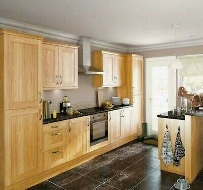 £15 • Buy New Hygena Southfield Oak Kitchen - Flat Pack - Orders Over £700=Free Delivery