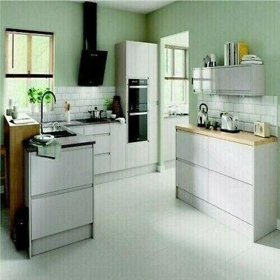 New Hygena Kensal Cashmere Kitchen - Handleless - Orders Over £700=Free Delivery • 15£