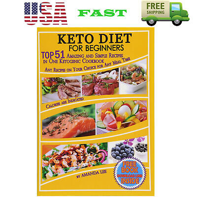 $7.99 • Buy Pr Keto Diet Recipes Beginners Ketogenic Cookbook Weight Loss Low Carb Food Book