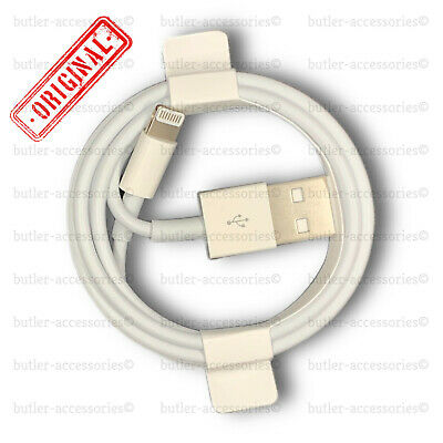 AU8.95 • Buy Original Genuine 1M Apple  Lightning Data Cable Charger IPhone 5S 6 7 8 X IPad