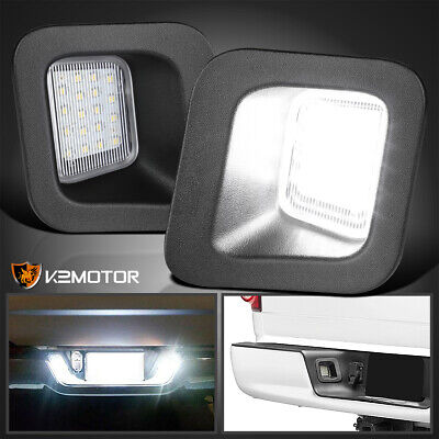 $19.38 • Buy For 2003-2018 Dodge Ram 1500 2500 3500 Clear Rear License Plate LED Lights Lamps