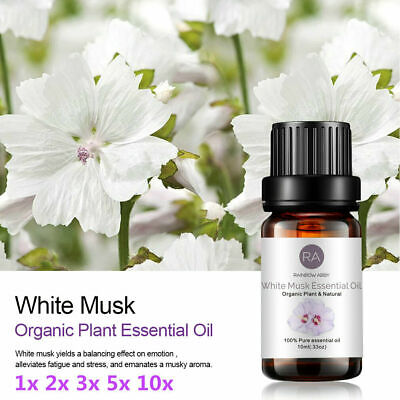 AU10.99 • Buy White Musk 10ml Essential Oils 100% Pure Oil Fragrance Aromatherapy Diffuser