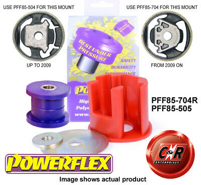 AU102.27 • Buy VW Passat B6 B7 Mid08-12 Powerflex Low Dsl Eng Mnt Bush Kit PFF85-704R/PFF85-505