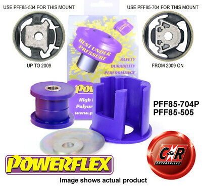 AU102.27 • Buy VW Passat B6 B7 Mid08-12 Powerflex LowEngMnt Bush Kit Track PFF85-704P/PFF85-505