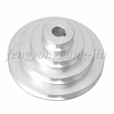 AU18.51 • Buy Aluminum 4 Step Timing Belt Pulley 41-130mm OD For Motor Shaft Drive
