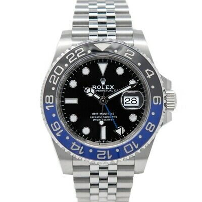 $ CDN20825.21 • Buy Rolex GMT-Master II Stainless Steel 126710BLNR  -  Batman , Jubilee Bracelet