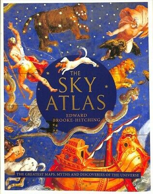 Sky Atlas : The Greatest Maps, Myths And Discoveries Of The Universe, Hardcov... • 24.98£