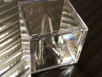 $ CDN4.41 • Buy Guitar Pick Bass Guitar Pick Crystal Clear Display Case W/Easel Stand - Damaged