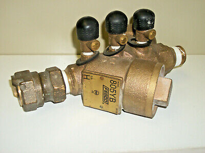 $69.98 • Buy Febco Watts 3/4  805YB 380123 Double Check Valve Assembly Back Flow USED