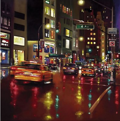 Neil Dawson - Avenues In The Americas - *Mounted* Limited Edition Print  • 150£