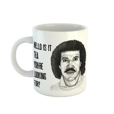 £6.99 • Buy Lionel Richie Coffee Tea Hello Is It Tea You're Looking For Ceramic Novelty Mug