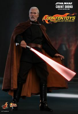 $ CDN311.82 • Buy Hot Toys 1/6 MMS496 – Star War Episode II Attack Of The Clones Count Dooku READY