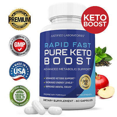 $29.95 • Buy Rapid Fast Pure Keto Boost Weight Loss Diet Pills Ketogenic Supplement BHB