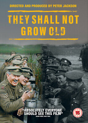 $13.98 • Buy They Shall Not Grow Old DVD (2018) Peter Jackson Cert 15