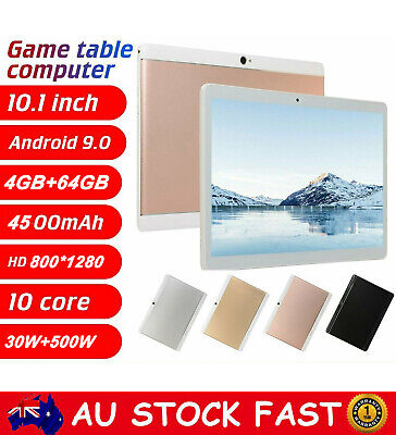 AU106.88 • Buy 10.1  Tablet PC HD Android 9.0 8G+256G Deca Core Google WIFI Dual Camera Phablet