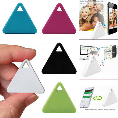 SPY Tracking Finder Device Car Motorcycle Pets Kids Tracker Triangle & White • 3.78£
