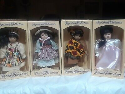 $ CDN36.70 • Buy Signature Collection Porcelain Doll Phoenix International. 8 Inches Lot Of Four.