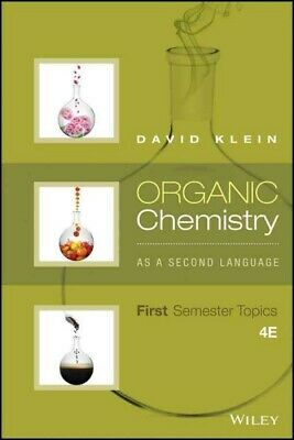 $83.24 • Buy Organic Chemistry As A Second Language : First Semester Topics, Paperback By ...