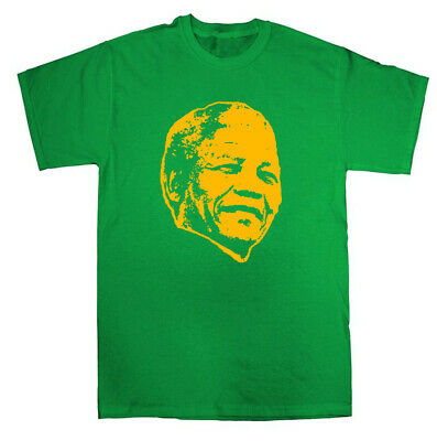 £11 • Buy Nelson Mandela Iconic T-shirt - World Leader Icon Legend South Africa African