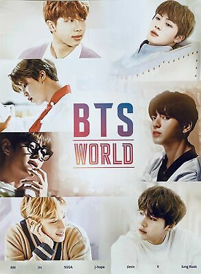 $5.99 • Buy BTS - BTS World Poster