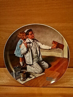 $ CDN5.99 • Buy Norman Rockwell HERITAGE Vintage Collector Plate  THE PAINTER   1983 Knowles