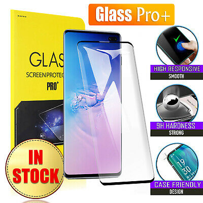 $ CDN3.14 • Buy Samsung Galaxy S8 S9 S10 Plus S10e Note 8 9 10+ Tempered Glass Screen Protector
